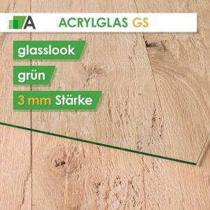 Acrylglas GS Stärke 3 mm glaslook