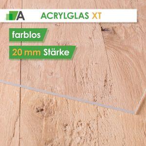 Acrylglas XT Stärke 20 mm farblos