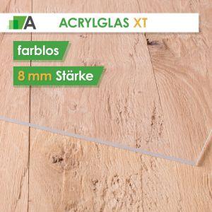 Acrylglas XT Stärke 8 mm farblos