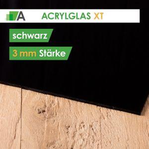 Acrylglas XT Stärke 3 mm schwarz
