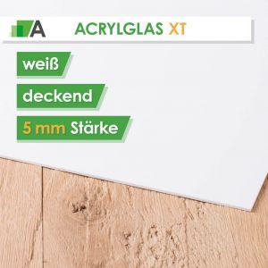 Acrylglas XT Stärke 5 mm weiß deckend