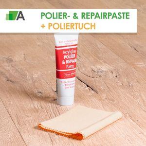 Set Polier- & Repairpaste + Poliertuch