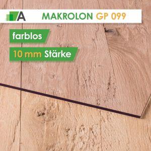 Makrolon® GP 099 standard Stärke 10 mm farblos