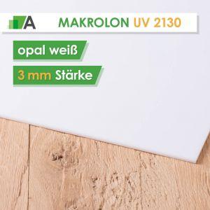 Makrolon® UV 2130 weiß opal 3mm