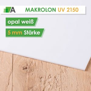 Makrolon® UV 2150 weiß opal 5mm