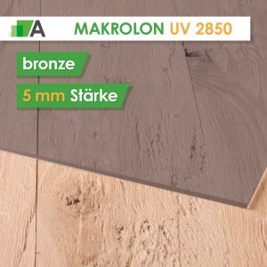 Makrolon® UV 2850 bronze 5mm