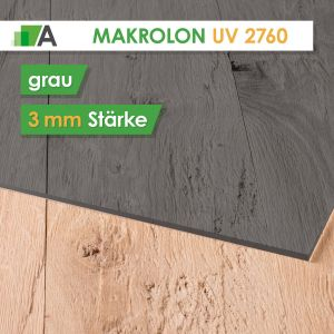Makrolon® UV 2760 grau 3mm