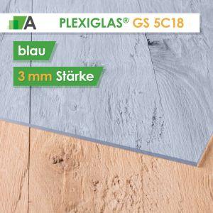 PLEXIGLAS® GS Stärke 3 mm blau 5C18