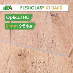 PLEXIGLAS® XT optical HC Stärke 8 mm farblos 0A000