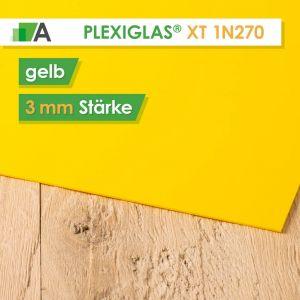 PLEXIGLAS® XT Stärke 3 mm gelb 1N270
